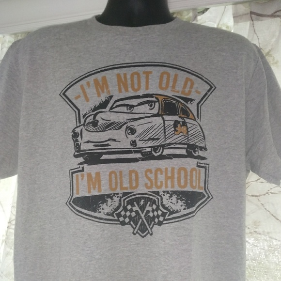 Adult car disney shirt